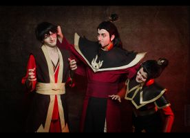 Avatar The Last Airbender - Fire family by TophWei