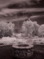 Infrared Fountain by Pennes-from-Heaven