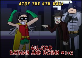 AT4W - All Star Batman 1 + 2 by MTC-Studio
