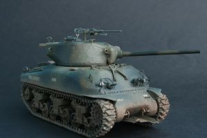 M4A1-76W Sherman by shonenred