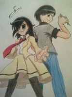 WATAMOTE - The Mojyo and me by ScarletJewelCV05