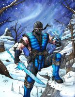 Sub Zero Mortal Kombat X by Daniel-Jeffries