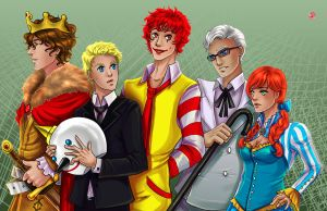 Fast Food by TyrineCarver
