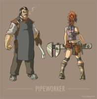 Phasis: Pipeworker by dadmad