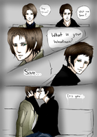 You're my weakness, Sam. by Maximum-Delusion