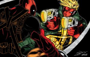Deadpool vs Grifter by pascal-verhoef