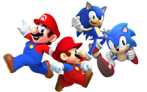 Mario and Sonic Generations by Banjo2015