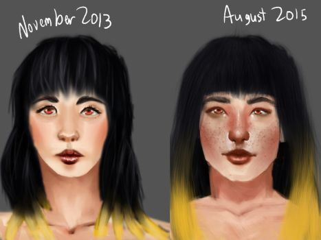 Before and After by PixieHaven