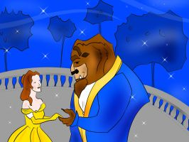 Beauty and the Beast by nikolabjovanovic