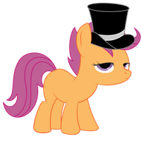 Scootaloo- Unamused by charli3brav0