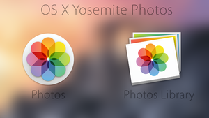 OS X Yosemite Official Photos Icon by Atopsy