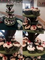 Woodland Creature Cupcake Tree by cake-engineering