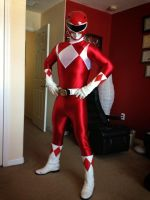 Red ranger!! by dekamexican