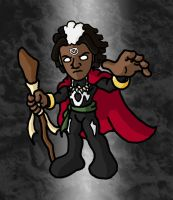 Mini Marvels - Brother Voodoo by ZappaZee