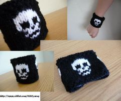 Skull Wristband by epichonor