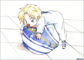 Baby.Tidus _01 by cute-ellyna