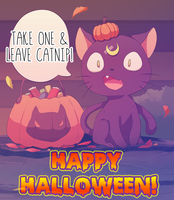 HAPPY HALLOWEEN TO ALL! by MzzAzn