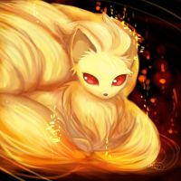 Pokedex Challenge #7: Fire Fox by WendySakana