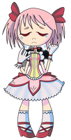 dont cry, madoka by chchch-cherrybomb
