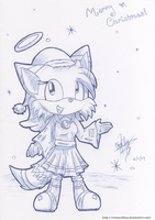 Gift: Huski the Fox Christmas by vivianchhay