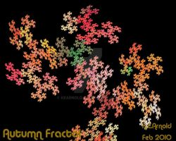 Autumn Fractal by KEArnold
