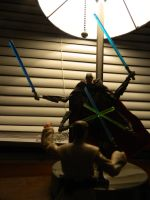 Obiwan vs Grievous by Champineography