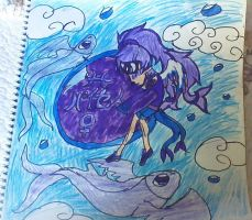 (F. Piesces) Sky Fish by NottheVoreFreak