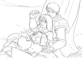 Garen and Katarina: The proposal. by The-Piojolopez