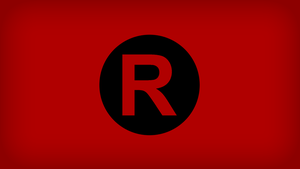 Team Rocket Logo Flag by Xumarov