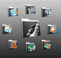 More Grid Folder Icons by Arclight-17