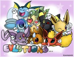 Eeveelutions. by Km92