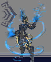 Warframe [Azured Prime] by BlazingCobalt