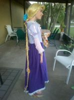 Rapunzel Cosplay 1 by supereilonwypevensie