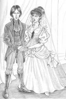 A Ravenloft Wedding by temiel