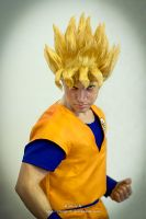 Goku Super Sayan by VertigoZX