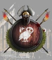 Only the wooden shield shall not fail. by Devitch