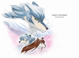 Wolf Children by Yuroboros