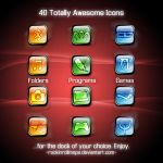 40 Icons for the 1k views by RockinRollmops