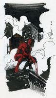 daredevil sketch by jvollmer