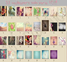 31 wallpapers solo para ti.!! by tutorialslucy