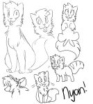 Nyan (Sketches) by galienyancats