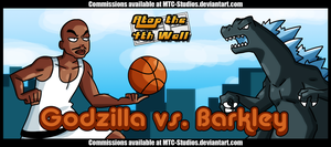 AT4W Classicard : Godzilla VS Barkley by MTC-Studio