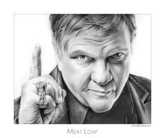 Meat Loaf by gregchapin