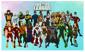 My DCU - Justice League Unlimited Redesigns by Femmes-Fatales