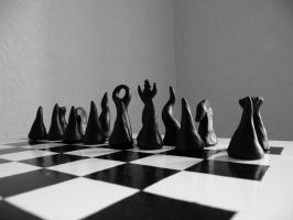 STOCK IMAGE chess game by LamollesseStockImage
