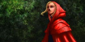 Concept - Red Ridinghood by Caelkriss
