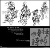 Qwi concept sketches... by RynoZebz