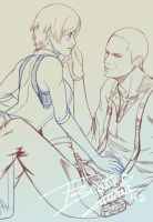 Sketch Jake and Sherry - Preview by Tinani