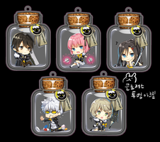 Closers Acrylic Charm by kthelimit