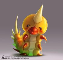 Kanto - Weedle by ArtKitt-Creations